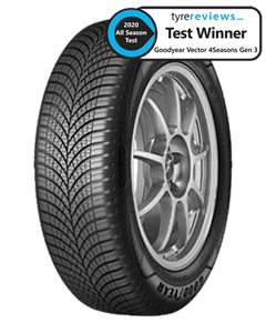 Goodyear Vector 4Seasons Gen 3 SUV 235/55R19 105W