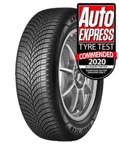 195/55R16 GOODYEAR VECTOR 4SEASONS GEN-3 91V XL (C B)